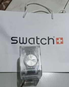 Jam Swatch Suok 700A Silver