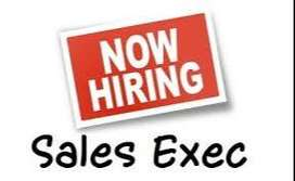 Looking For Dynamic & Innovative Sales Executives