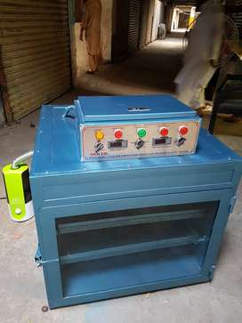 Incubator and hatchery machine for parrots and many kind of ground