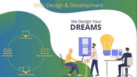 Web designing and development with High Speed speed performance
