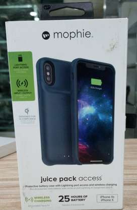 MOPHIE JUICE PACK ACCESS FOR IPHONE X/XS  NAVY