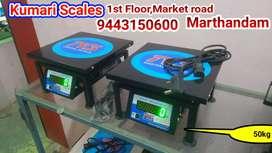 50 kg New Model Weight machine Weighing Scale Kumari Scales,Marthandam