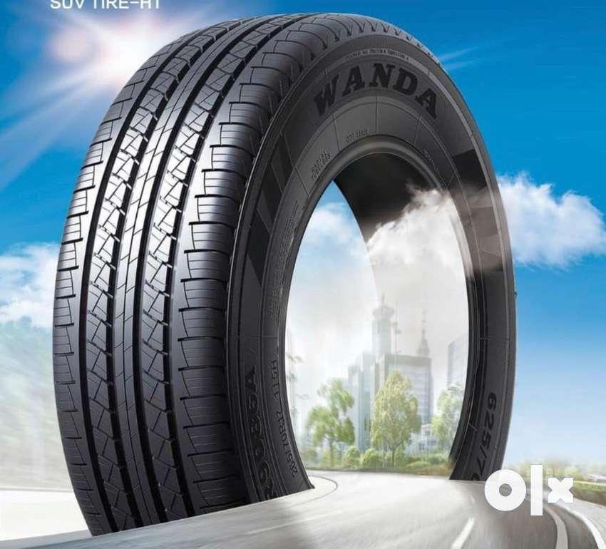 Hyundai Creta, Toyota Innova Chrysta Imported tyres(205/65-16) 0
