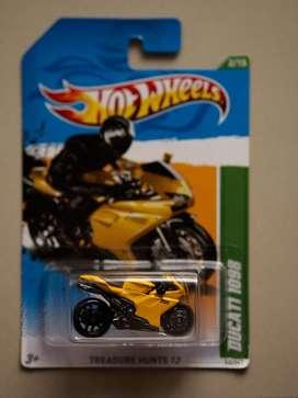Hotwheels Ducati 1098 Kuning Treassure Hunt