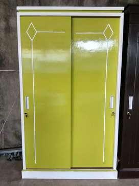 PROMO !! Lemari 2 Pintu Blockwood Slading Door