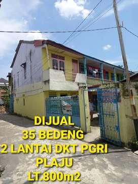Dijual 35 bedeng siap huni hnya 50mtr dr sekolah PGRI plaju palembang
