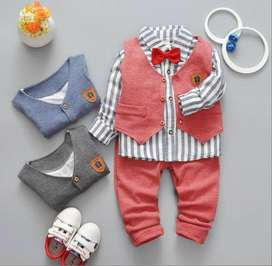 Kids Boy Party Wear Waistcoat Outfit for Birthday
