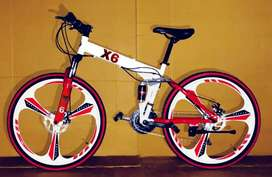 Alloy macwheel Foldable Cycle With 21 Shimano gears
