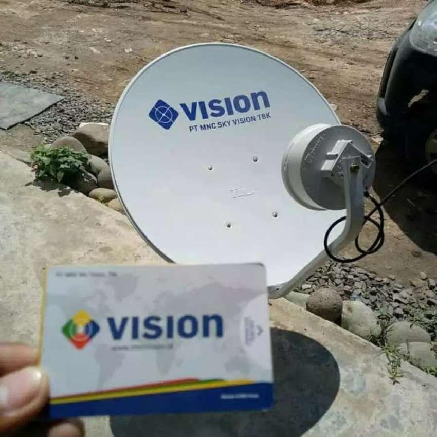 Melayani Pemasangan MNC Vision Indovision Free Jasa Pasang 0