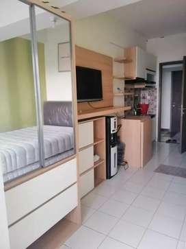 Disewakan studio apartemen full furnished