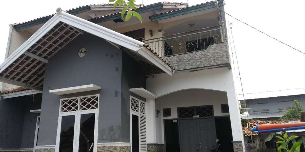 jual rumah dua lantai di karawang