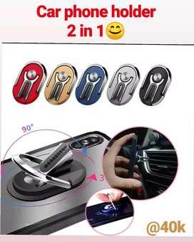 Car holder phone 2 in 1