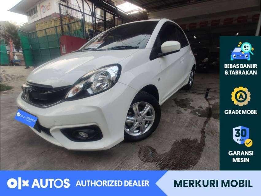 [OLXAutos] Honda Brio Satya 2017 E 1.2 Bensin A/T Putih #Merkuri