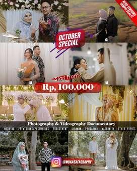 TERMURAH!  | Jasa Photo & Video Pernikahan & Acara lainnya.