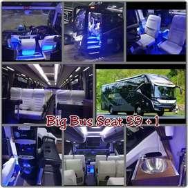 Sewa Bus PO Bin ILyas Pariwisata. Dapatkan Souvernir & Hadiah langsung