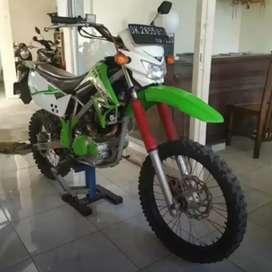 Bali dharma motor jual Kawasaki KLX tahun 2014