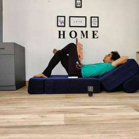 Brand New Sofa Cum Beds  -5 Years Replacement Guarantee!  -Is made up