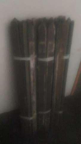 Kayu ulin bekas pagar (uk 94x5x1.5 cm) 35 Batang