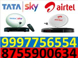 tata sky and tata sky 1 month free all india cod -1299/- only