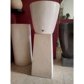 Pancuran air cuci tangan/tempat wudhu teraso