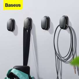 Baseus 4PCS Cable Organizer USB Cable Clip Management