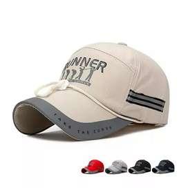Topi baseball dan golf 100% cotton classic