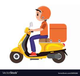 Delivery boy needed for a medical store (Time 4 to 9)