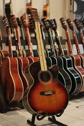 Gitar akustik difergio sunbrush