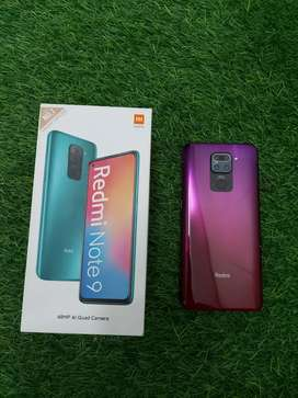 Redmi Note 9 in brand new condition 4/128 only 8 months used