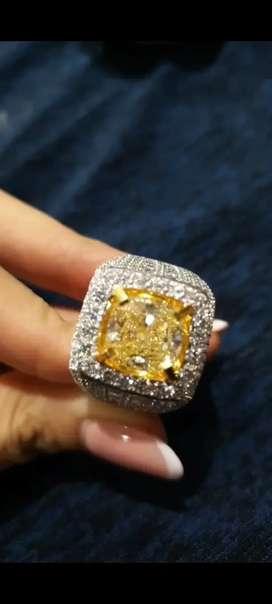 Cincin berlian 5.26 carat