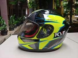 Helm KYT RC-7 Fullface jarang dipakai