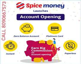 Spice Money AEPS id