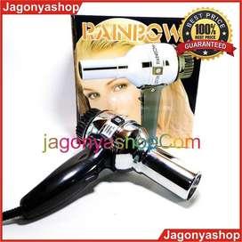 COD Bayar Di Rumah Hairdryer Hair Dryer Pengering Rambut Rainbow