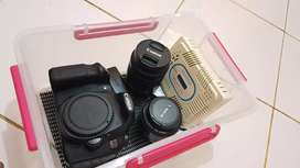 Canon 60d lensa kit stm dan fix canon