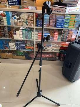 Tiang besi microphone