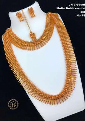 Neck sets alloy gold plated