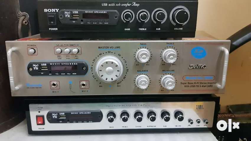 New Stereo Amplifier, 2.1 & 5.1 amplifier for sale 0