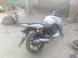 180 cc. Double disc brake gadi ekadam mast hai