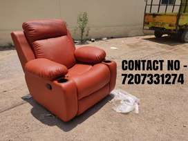 Recliner with cup holder arms, Recliner Sofa chair with best comfort