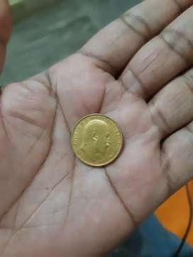 Antique Coin Sovereign