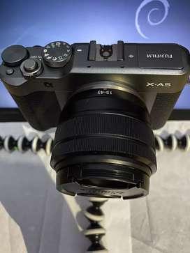 Fujifilm XA-5 kit fujinon xc 15-45mm OIS like new