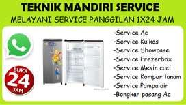 Service Kulkas, Ac, Mesin cuci, Kompor tanam, Frezerbox (Panggilan)