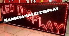 -running text led display-
