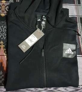 Jaket Adidas NOT SPORTS SPECIFIC Full-Zip Stadium Pria Hitam FR7158