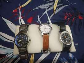Fastrack watches with 3 peice