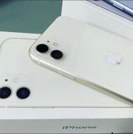 IPHONE 11 64GB WHITE SECOND ORY INTER LIKE NEW