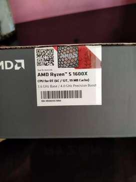 Processor AMD Ryzen 5 1600x up to 4.0 Ghz 6 Core 12 Thread 19mb Cache