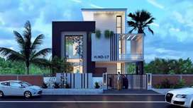 5 Marla { House Completed Duble Story Corner House } New Lahore City