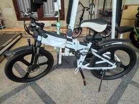 Electric Bike / Sepeda Listrik MTB Lipat Samebike M-Nine 26 Inch