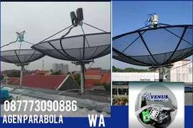 Agen toko  Parabola Venus  ll Instal parabola gratis iuran bulanan